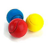 3 Soft Tennis Balls