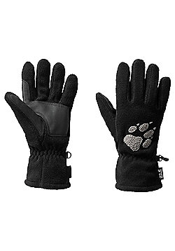 Jack Wolfskin Paw Gloves - Black