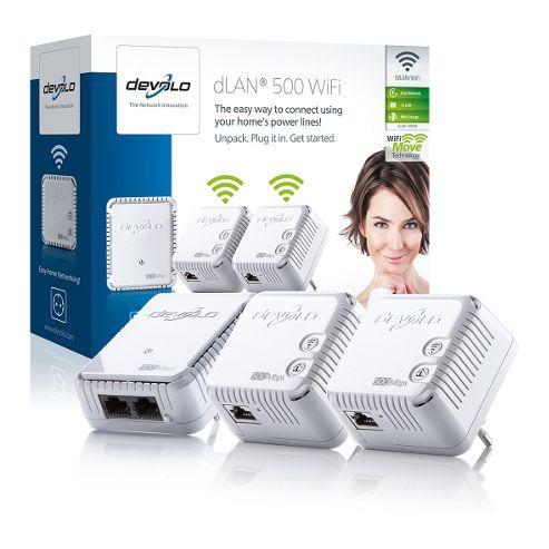 Devolo 500 Wifi Network Kit.
