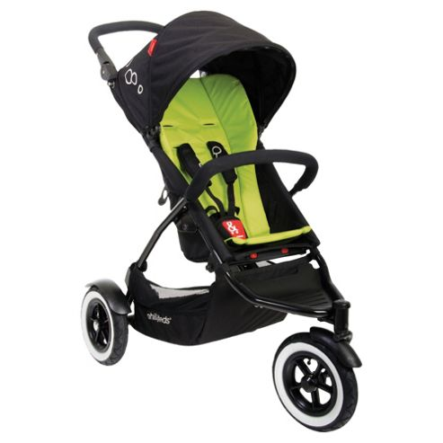 Phil & Teds Dot 3 Wheel Pushchair, Apple