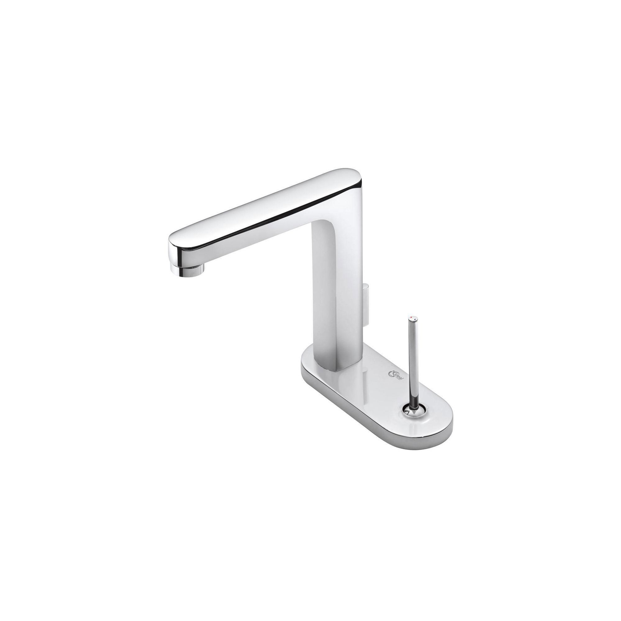 Ideal Standard Simply U 2 Tap Hole Rectangular Spout Basin Mixer Tap with 1 Oval Backplate at Tesco Direct