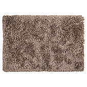 Super Shaggy Rug Brown, 70 x 130cm