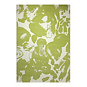 Esprit Energize Green Woven Rug - 133 cm x 200 cm (4 ft 4 in x 6 ft 7 in)