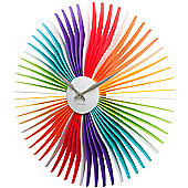 Karlsson Oopsy Daisy Wall Clock - Multi Colour