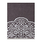Linea Serenity Pack Of 2 Hand Towels In Grey