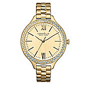 Caravelle New York Carla Ladies Crystal Watch - 44L154