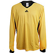 Adidas Tabela II Climalite Long Sleeved Football Shirt Jersey - Yellow