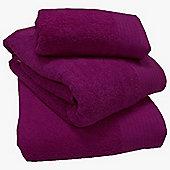 Luxury Egyptian Cotton Hand Towel - Magenta
