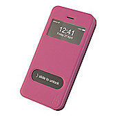 Tortoise™ Flip Cover Case with Interactive Window, iPhone 5/5S, Pink