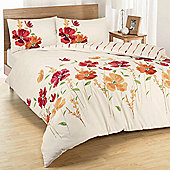 Dreams 'N' Drapes Eleanor Duvet Set in Spice - Double