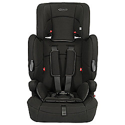 Graco Endure Car Seat, Group 1-2-3, Black