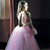 Sequin Ballgown Pink - Child Costume 5-6 years