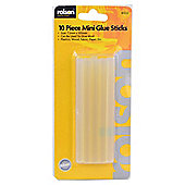 Rolson 10-piece Mini Glue Sticks