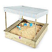 Plum Palm Beach Wooden Sand Pit with Canopy