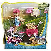 Barbie Chelsea And Tricycle Puppy Adventure