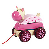 Santoys ST692b Pull Along Cow