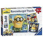 Ravensburger 3x 49-piece Minions Puzzle