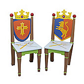 Fantasy Fields Knights & Dragons 2 Chair Set