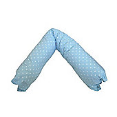 PreciousLittleOne 5ft Body & Baby Support Pillow (Dotty Blue)