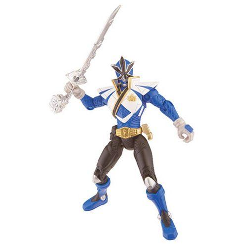 Power Rangers Super Samurai Action Figure - Blue Super Mega Ranger