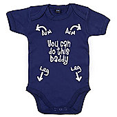 Dirty Fingers You can do this Daddy Baby Bodysuit