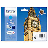 Epson T7032 Standard Ink Cartridge For Epson WorkForce Pro 4000 Series - Cyan