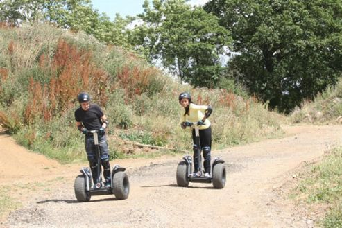 Weekend Segway Rally for Two with Photo Special Offer