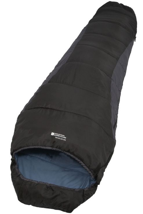 Traveller 200 2 to 3 Season Spring Summer Autumn 1.5Kg Sleeping Bag (right hand zip)