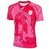 Asics Stade Francais Replica Away Jersey 15/16 - Pink