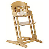 BabyDan DanChair Wooden Safety High Chair Nature