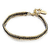 Shimla Ladies Gold/Black Tag Bracelet - SH-241