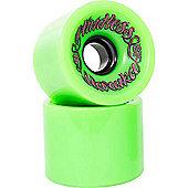 Mindless Longboards Voodoo Haraka Longboard Wheels - Green