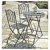 Versailles Bistro Set, Washed Grey
