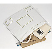 Postsafe Envelopes Polythene Oxo-biodegradable Extra Strong 460x430mm DX White Ref PG28 [Pack 100]