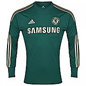 2012-13 Chelsea Adidas Home Goalkeeper Shirt - Green