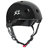 S1 Helmet Company Mini Lifer Helmet - Black Gloss - Black