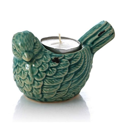 Ceramic Bird Tealight Holder