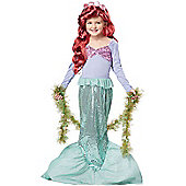 Child Little Mermaid Costume Large