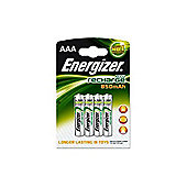Energizer 850 mAh Rechargeable AAA Batteries - 4 Pack.
