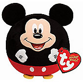"Ty Beanie Ballz 5"" Plush Mickey Mouse"