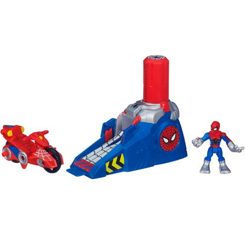 Playskool Heroes Marvel Spider-Man Adventures Racing Launcher
