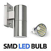 Stainless Steel LED Outdoor Garden Wall Light