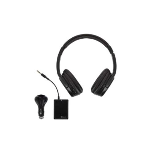 BeeWi Wireless Headphones with Bluetooth Transmitter (Black)