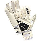 Puma Elite Gc (Roll Finger) Junior Goalkeeper Gloves - White