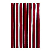 Linea Red Stripe Beach Towel