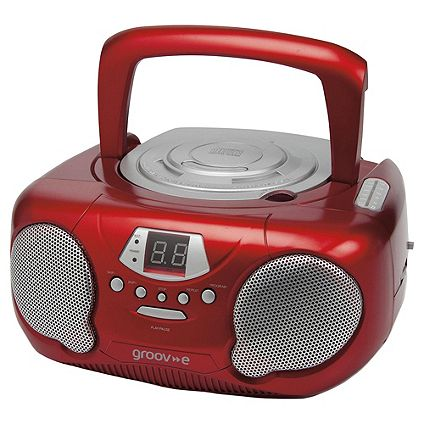 Save £10 on Groov-e Boombox