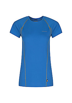Craghoppers Ladies D Of E Vitalise Base T-Shirt - Blue