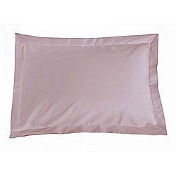 Julian Charles Percale Heather Luxury 180 Thread Count Oxford Pillow Cases (Pair) - Standard