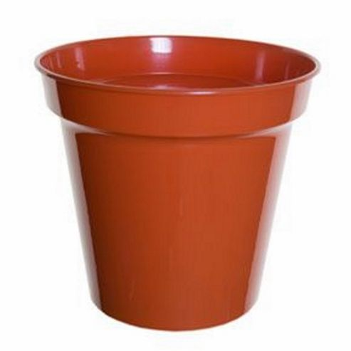 buy whitefurze garden round 20cm pot from our pots range. Black Bedroom Furniture Sets. Home Design Ideas