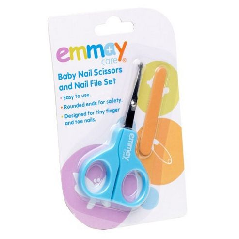 Emmay Care Health Baby Safety Scissors & Nail File